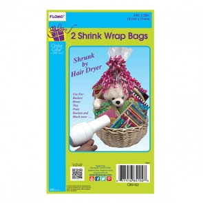 Shrink Wrap Basket Bags - 2 pack