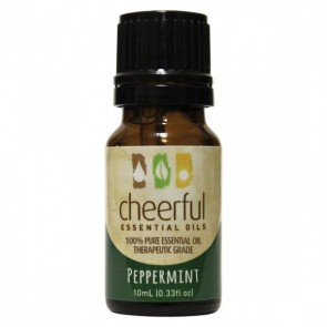 Cheerful Essential Oil 10ml bottle- PEPPERMINT  by A Cheerful Giver