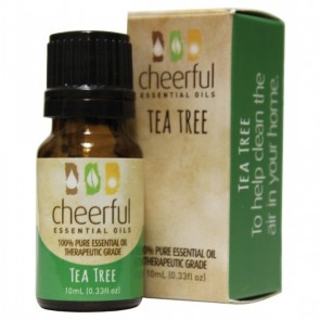 Cheerful Essential Oil 10ml bottle- TEA TREE  by A Cheerful Giver