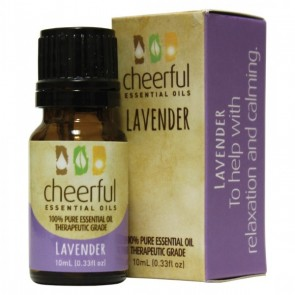 Cheerful Essential Oil 10ml bottle- LAVENDER   by A Cheerful Giver