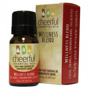 Cheerful Essential Oil 10ml bottle- WELLNESS  by A Cheerful Giver