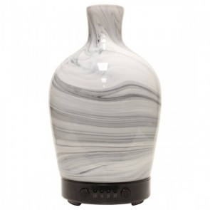 Artesian Glass Ultrasonic Oil Diffuser - MARBLE VASE by A Cheerful Giver