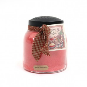 A Cheerful Giver Papa Jar Candle - Baked Candy Apple