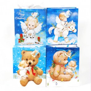 Large Angels on Earth Gift Bags - Assorted