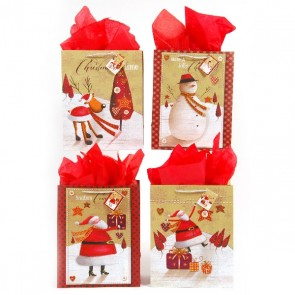 """Large """"Holiday Tales"""" Christmas Gift Bags by FLOMO"""