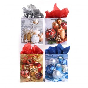 """Super """"Ornament Delight"""" Christmas Gift Bags by FLOMO"""