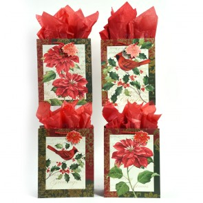 """Large """"Beautiful Christmas"""" Gift Bags by FLOMO"""