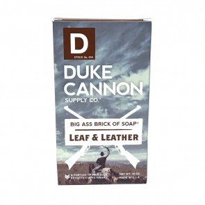Big Ass Brick of Soap - Leaf and Leather by Duke Cannon Supply Co.