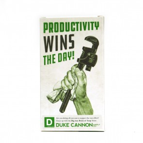 Big Ass Brick of Soap - Productivity by Duke Cannon Supply Co.