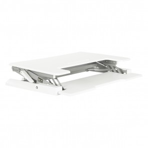 Multiposition Desk Riser - White