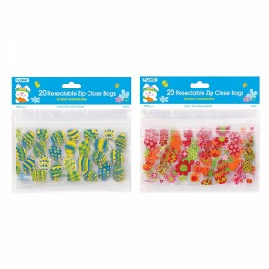Easter Resealable Zipper Bags - Assorted