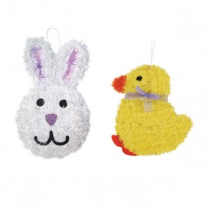 Easter Tinsel Decoration, Chick & Bunny by FLOMO