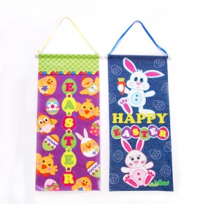 FLOMO Laminated Easter Cartoon Banners