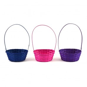 Easter Oval Bamboo Basket by FLOMO