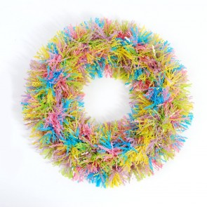 FLOMO Easter Tinsel Wreath