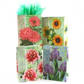 Large Paisley In Full Bloom on Matte Gift Bags