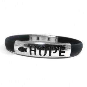 Inspirational Stainless Steel Bracelet