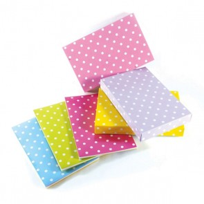 Large Pastel Polka Dot Foldable Gift Box
