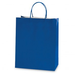 Euro Medium Royal Blue Gift Bag