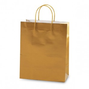 """Large Gold """"Color Savvy"""" Gift Bags by FLOMO"""