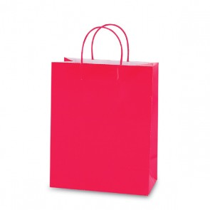 Printed Hot Pink Color Savvy Bag
