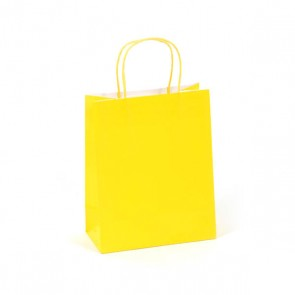 Euro Medium Yellow Gift Bag