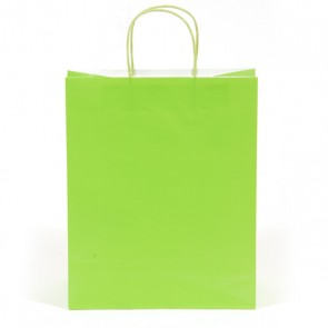 Euro Medium Lime Green Gift Bag
