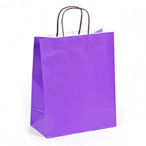 Euro Medium Bright Purple Gift Bag