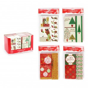 FLOMO Christmas Printed Jewelry Boxes