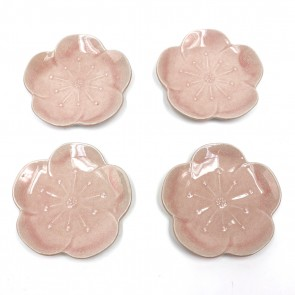 Sakura Flower Plate Set