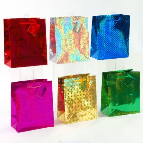 Small Hologram Shine Gift Bags