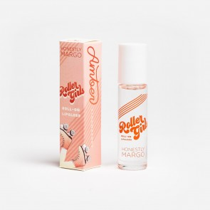 Roller Girls Roll-On Lipgloss - AMBER Strawberry by Honestly Margo