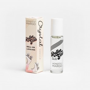 Roller Girls Roll-On Lipgloss - CRYSTAL Vanilla by Honestly Margo