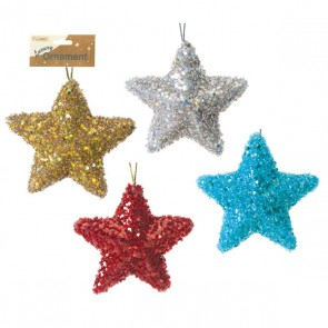 Sequin Star Ornament