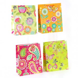 Large Butterfly Gardens Hot Stamping Gift Bags