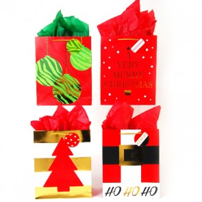 Large Golden Classics Gift Bags - Assorted