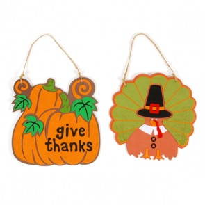 Felt and Foam Thanksgiving Sign - Assorted