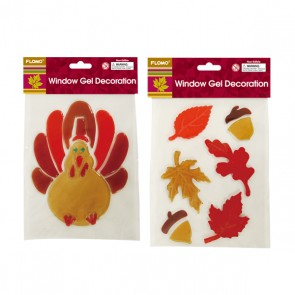 Thanksgiving Gel Window Clings
