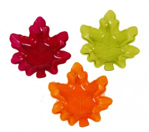 Maple Leaf Thanksgiving Bowls - Assorted