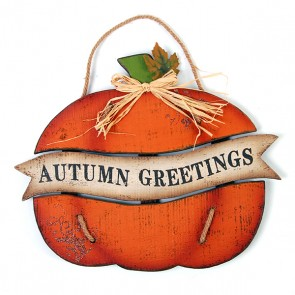 Autumn Greetings Sign