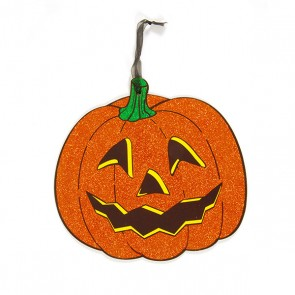 Pumpkin Paper Hanging Plaque