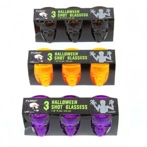 Halloween Shot Glasses - Assorted