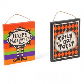 Printed Halloween Plaque