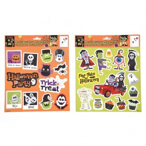 Halloween Characters Refrigerator Magnets by FLOMO
