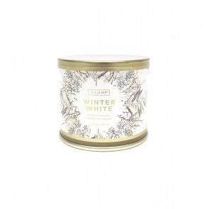 Noble Holiday Winter White Tin Candle by Illume
