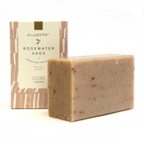 Collectiv Rosewater Sage Bar Soap by Illume