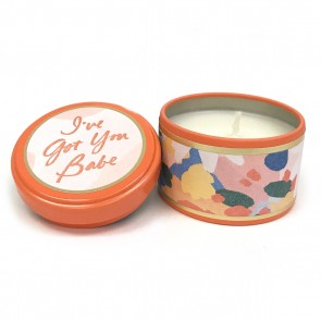 Happy Go Lucky Coconut Milk Mango Tin Candle by Illume