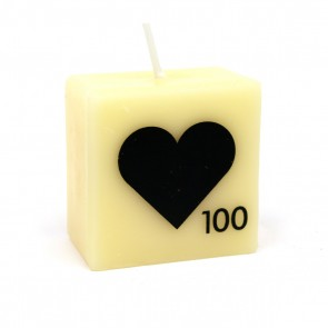 Mini 'Heart' Symbol Candle