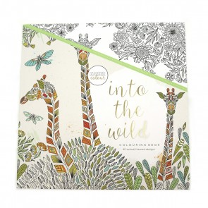 Into the Wild Adult Coloring Book