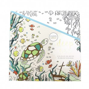 Deep Sea Adult Coloring Book
